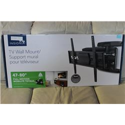 """47-80"""" FULL MOTION TV WALL MOUNT (COMPLETE)"""