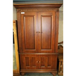 WOOD ARMOIRE