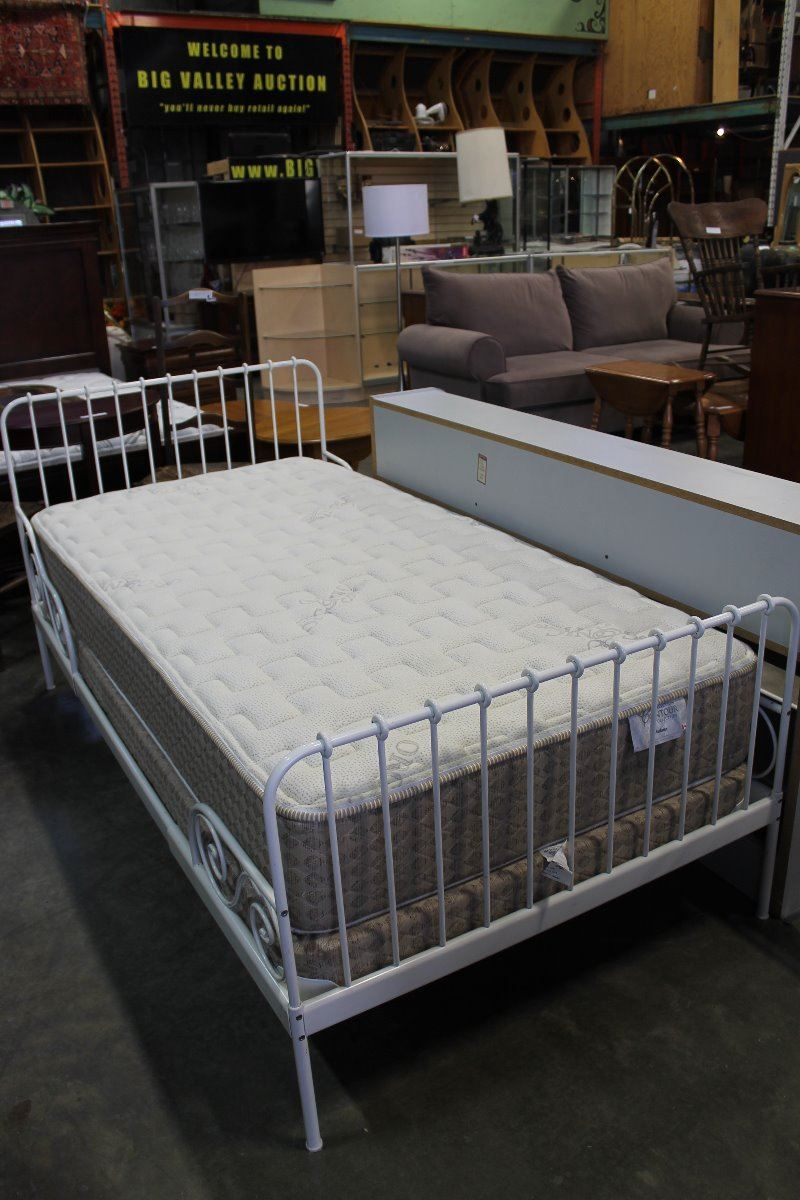 Adjustable Ikea Metal Bed Frame From Toddler To Single