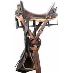 McClellan U. S. cavalry saddle nicely relined