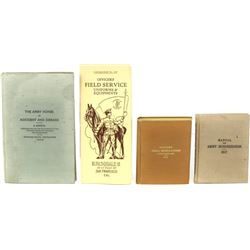 Collection of 4 cavalry related books.