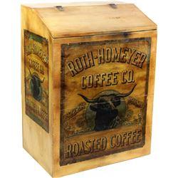 Roth Homeryer Coffee Co bulk bin