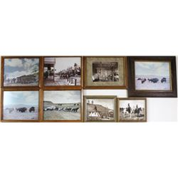 Collection of 8 L.A. Huffman photos from