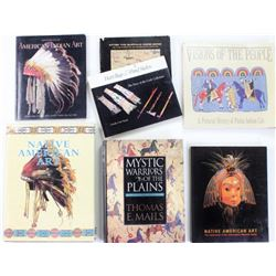 Collection of 7 reference books on Native