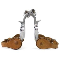 J.R. McChesney style spurs by August