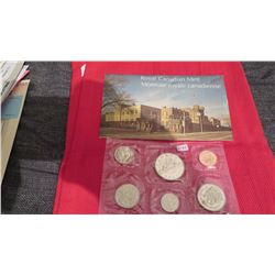 1975 Royal Canadian mint Proof set – one cent to $1.00