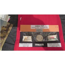 Canada post – Two Historic Collector pins