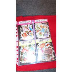 Four 100 stamp packages more than 400 stamps in total