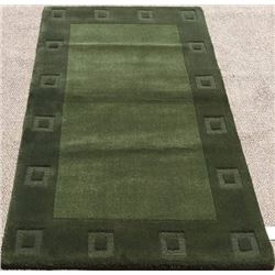 100% Wool Pile Hand Tufted Indian Area Rug