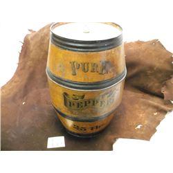 """Pure Pepper Tin 25 LBS   16""""HX9""""W"""