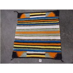 """Old Navajo Wool Blanket, 30"""" x 29"""""""