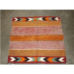 """Old Navajo Wool Rug, 32"""" x 29"""""""
