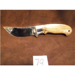 "Marked Dent Knife, Doug Dent , Master Knife Maker from, West Virginia, Blade 3.75"" x Handle 4.25"""
