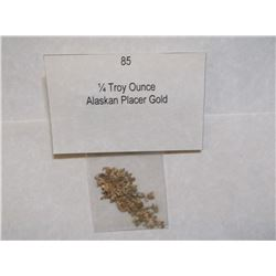 ¼  Troy Ounce, Alaskan Placer Gold