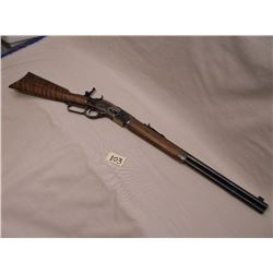 Winchester 73 Carbine, .357 Mag -.38 Spl, Case Hardened Receiver, Marble Pop Up Peep Sight