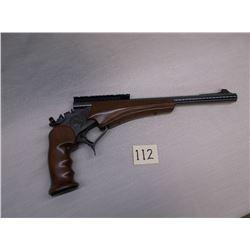 "Thompson Center Super 14, Single Shot Handgun, .44 Mag –Rail, 14"" Barrel, Like New Condition"