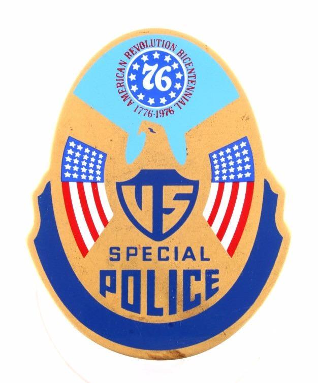 American Revolution Bicentennial Police Badge