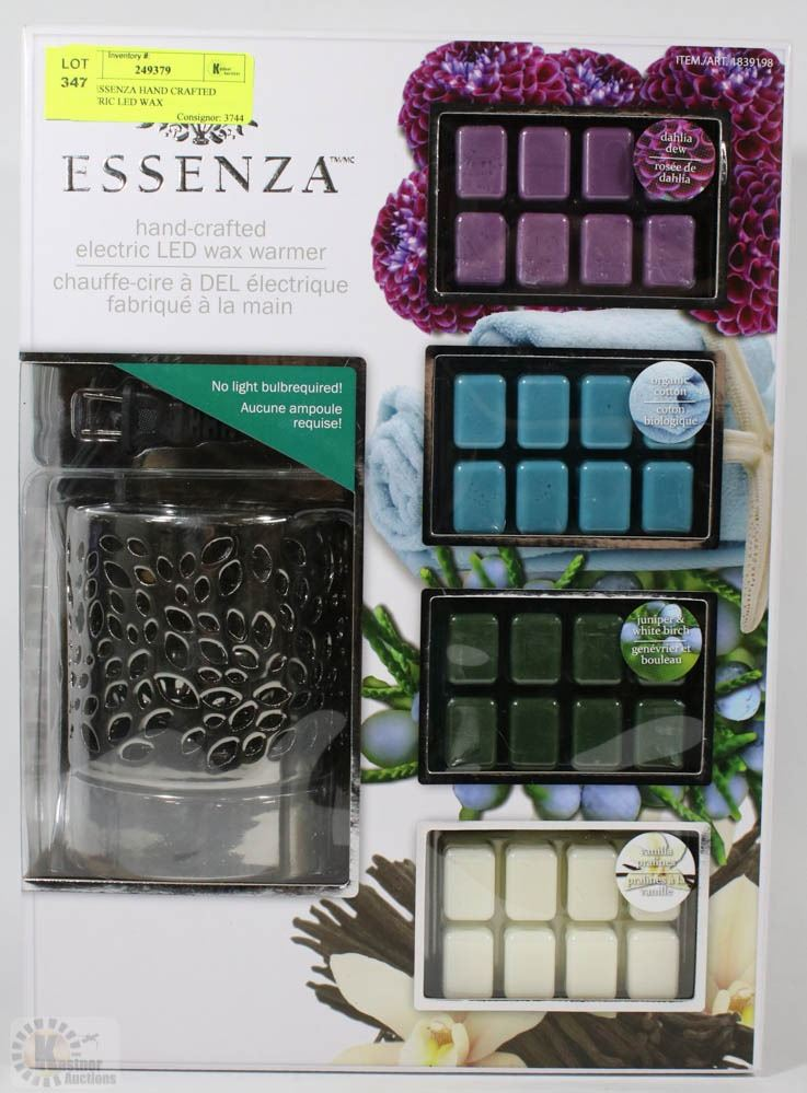 New Essenza Hand Crafted Electric Led Wax