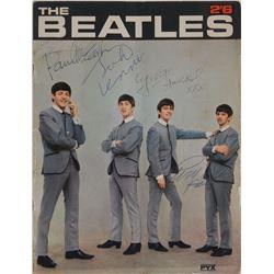 Beatles Signed 1963 PYX Program
