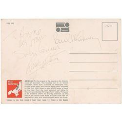 Beatles Signed 1967 Postcard