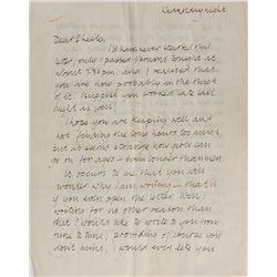 Stuart Sutcliffe Autograph Letter Signed