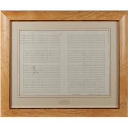 Paul McCartney and George Martin Signed 'Yesterday' Lithograph