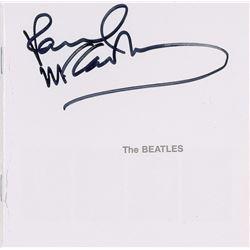Paul McCartney Signed CD Booklet