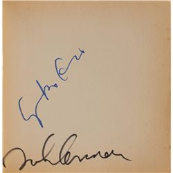 John Lennon and Yoko Ono Signed Grapefruit Book