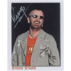 Ringo Starr Pair of Signed Photographs