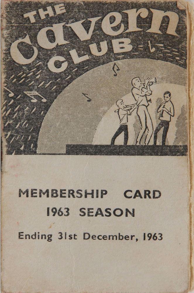 Bildresultat för The Beatles at The Cavern Club on February 3rd, 1963