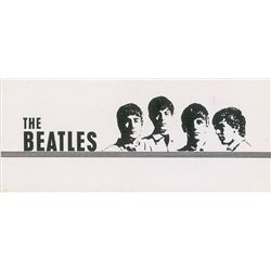 Beatles NEMS Business Card