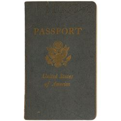 Deep Purple: Tommy Bolin's Signed Passport
