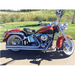 NO RESERVE! 2007 HARLEY DAVIDSON SOFTAIL DELUXE