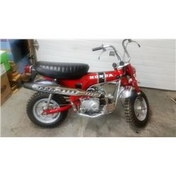 1971 HONDA CT 70 MINI BIKE