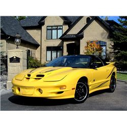 NO RESERVE! 2002 PONTIAC FIREBIRD TRANS AM COLLECTOR EDITION T-TOP