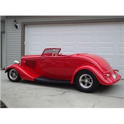 3:30 PM SATURDAY FEATURE! 1933 FORD ROADSTER