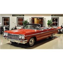 2:15 PM SATURDAY FEATURE! 1964 CHEVROLET IMPALA SUPER SPORT CONVERTIBLE