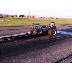 NO RESERVE!  1972 WOODY GILMORE FRONT ENGINE DRAGSTER