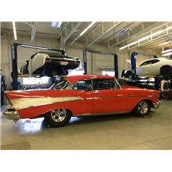 2:00 PM SATURDAY FEATURE! 1957 CHEVROLET BEL AIR 2-DOOR HARD TOP - AMAZING BUILD!