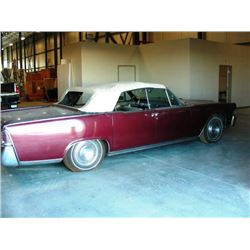 NO RESERVE!  1965 LINCOLN CONTINENTAL 4-DOOR CONVERTIBLE