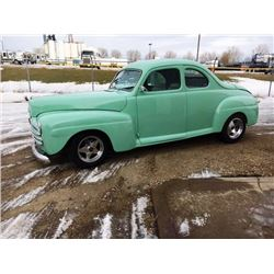 1947 FORD BUSINESSMANS COUPE HOT ROD