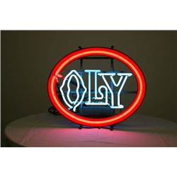 NO RESERVE! NEON SIGN - OLY BEER