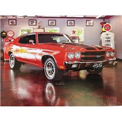 1:00 PM SATURDAY FEATURE! 1970 CHEVROLET CHEVELLE SS