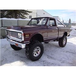 1972 CHEVROLET SHORTBED FLEETSIDE 4X4 PICK-UP