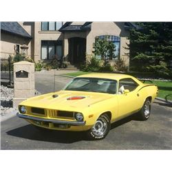 1973 PLYMOUTH BARRACUDA 2-DOOR