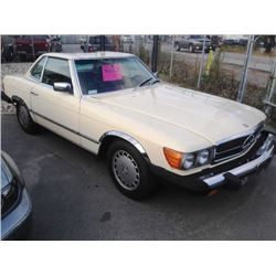 1983 MERCEDES 380SL CONVERTIBLE ROADSTER