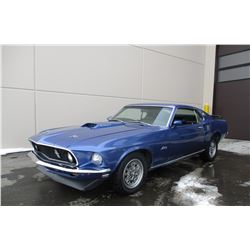 FRIDAY NIGHT! 1969 FORD MUSTANG FASTBACK
