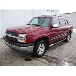 2005 CHEVROLET AVALANCHE 4-DOOR 4X4