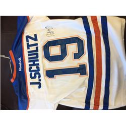 FRIDAY NIGHT NO RESERVE! OILERS JUSTIN SCHULTZ SIGNED JERSEY