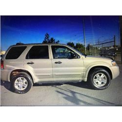 2007 FORD ESCAPE AWD CUSTOM 4X4